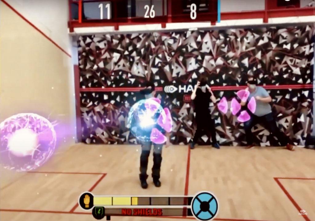 Hado VR joueur